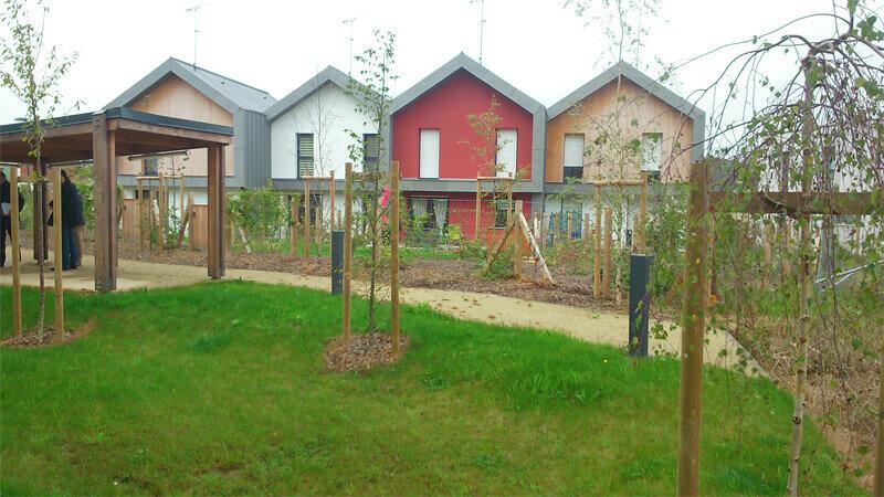 Aménagement de jardin, résidences, syndic de copropriété, création d'espaces verts, création de jardin pour les professionnels - Morisseau Paysagistes Nantes